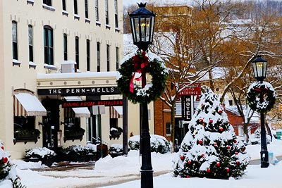 Christmas on Main Wellsboro PA