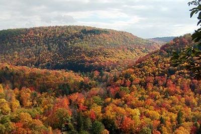 Endless Mountains of PA