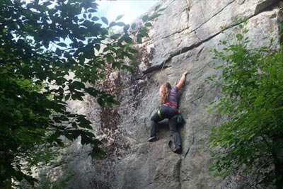 Rock Climbing in Tioga County, PA