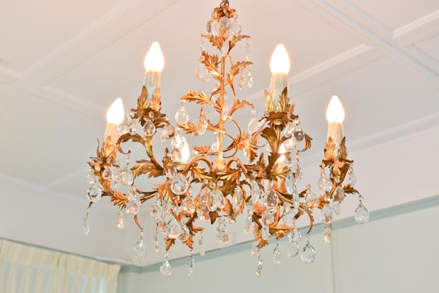 Historic Penn Wells Chandelier