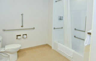 Penn Wells Lodge Suite Accessible Bathroom